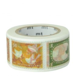 Masking tape - timbres animaux / postage stamp - 2,5cm x 10m