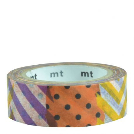 Masking Tape Halloween Colors