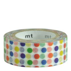 Masking tape KIDS Pois multicolores