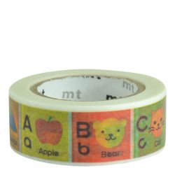 Masking tape kids - Alphabet A-M