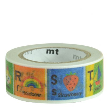 Masking tape kids - Alphabet N-Z