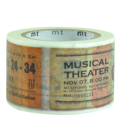 Masking tape - Tickets