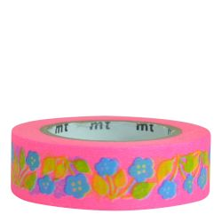 Masking tape Retro shocking pink