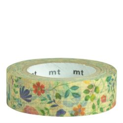 Masking Tape / Watercolor flower