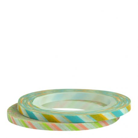 Masking tape / 2 slim 3mm / Deco A