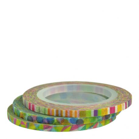Masking tape / 3 rouleaux ultra-fins POP 3mm