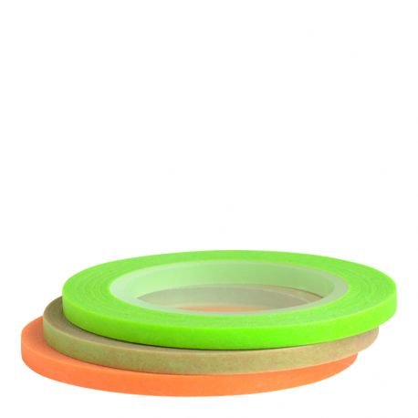 Masking tape / 3 rouleaux ultra-fins NEON 3mm