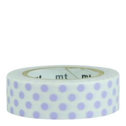 Masking tape / Points lilas (Dot usufuji)