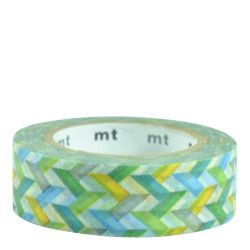 Masking tape / Slash green