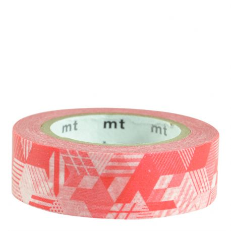 Masking tape / cubes rouge / box red