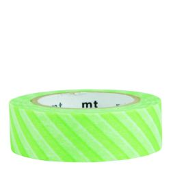 Masking tape / stripe shocking green (vert fluo)