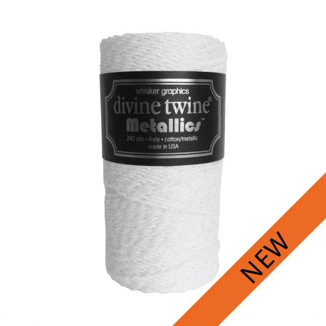 Divine Bakers twine Neige 220m
