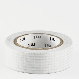 Masking tape / Quadrillage argent (hougan silver)