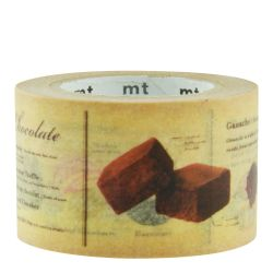 Masking tape Encyclopédie Chocolats