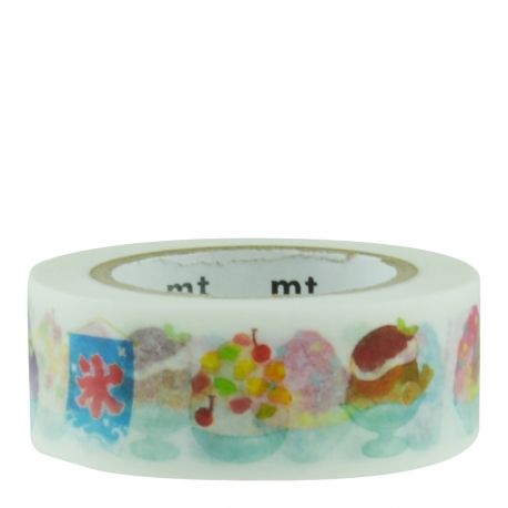 Masking tape - coupes glacées / shaved ice - 1,8cm x 10m