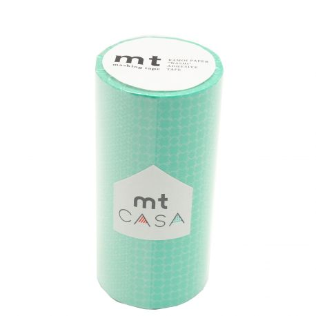 MT CASA MOTIF 10cm traditionnel lagon - line pattern green