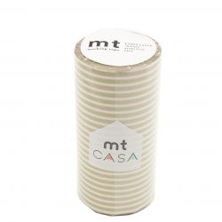 MT CASA LIGNES 10cm or - border gold
