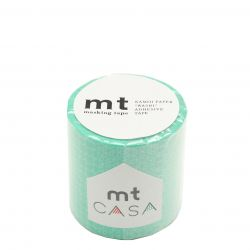 MT CASA MOTIF 5cm traditionnel lagon - line pattern green