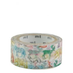 Masking tape - Animaux sauvages