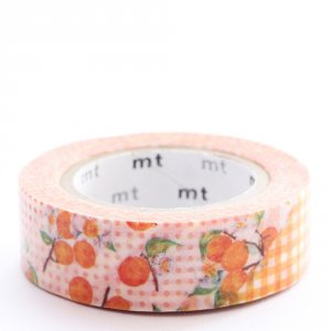 Masking tape / Fleur d'abricot (flower orange)