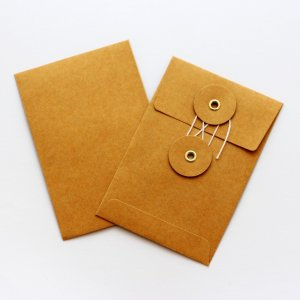Enveloppe Midori Kraft orange - Vertical